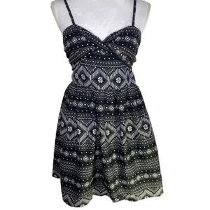 Roxy Summer Dress, black and White As New
